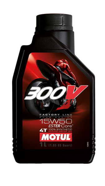 Motul 300V 4T Factory Line Road Racing 15W-50 1L